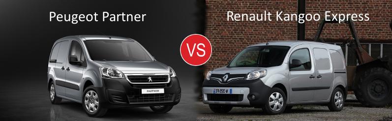 Essai comparatif Peugeot Partner VS Renault Kangoo Express