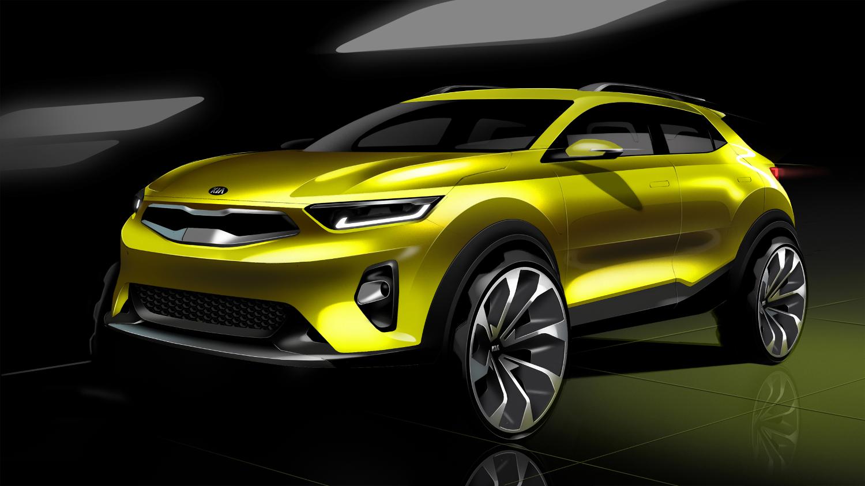 Premier teasing du Stonic, le futur SUV urbain de Kia