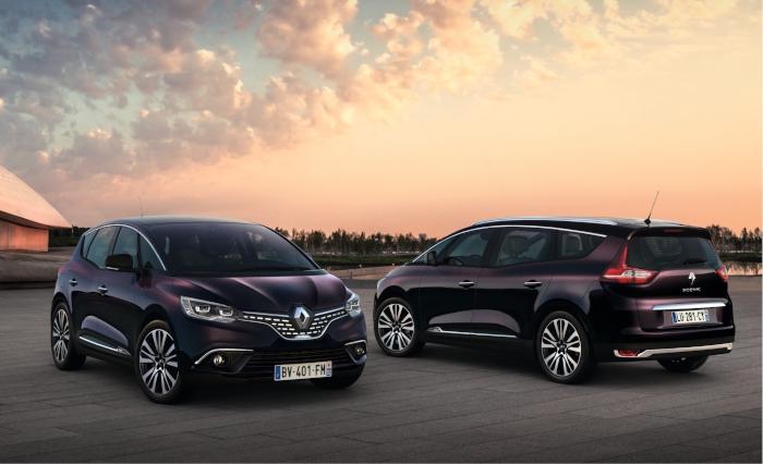 Le Renault Scénic devient haut de gamme dans sa version Initiale Paris