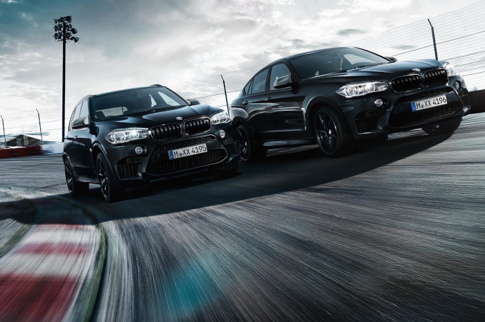 Edition Black Fire : 50 nuances plus sombres pour les BMW X5 M et X6 M