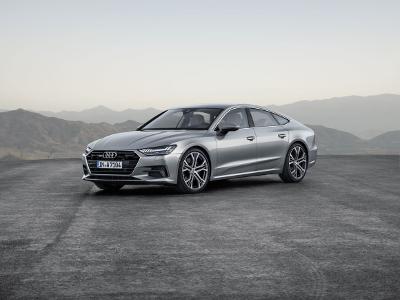 Audi A7 Sportback à l'arrêt