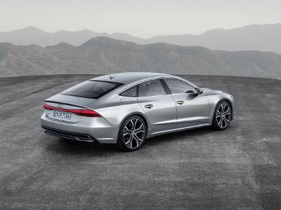 Audi A7 Sportback vue de l'arrière