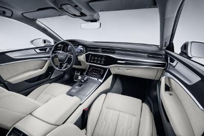 Audi A7 Sportback vue de l'intérieur