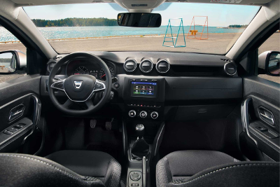Dacia Duster 2 vue de l'intérieur