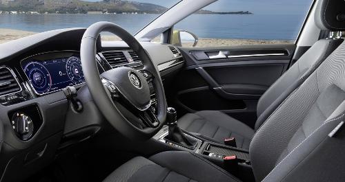 Essai Volkswagen Golf 7 : habitacle