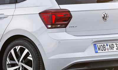 Essai Volkswagen Polo 6 2017 : détail optique arrière