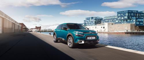 Extérieur de la Citroën c4 cactus