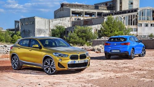 Nouveau BMW X2 : le design