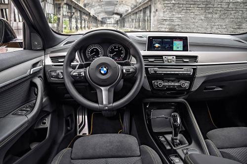 Nouveau BMW X2 : l'intérieur et l'équipement