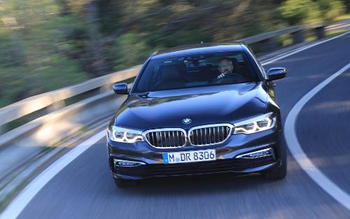 BMW serie 5participation au trophée de la voiture de l'année 2018