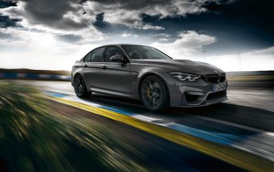 BMW M3 CS sur circuit