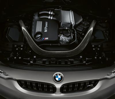 BMW M3 CS capot ouvert