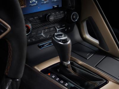 Chevrolet Corvette ZR1 détails intérieur