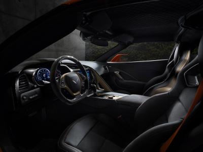 Chevrolet Corvette ZR1 intérieur