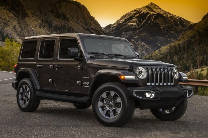 Jeep dévoile son Wrangler 2018