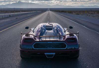Koenigsegg Agera RS record de vitesse