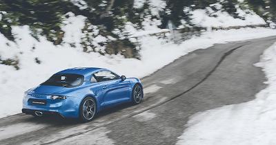 Performance et sportive l'Alpine A110 Sport
