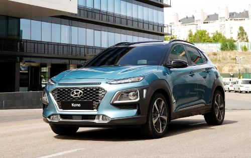 Hyundai Kona Test Euro NCAP 5 étoiles