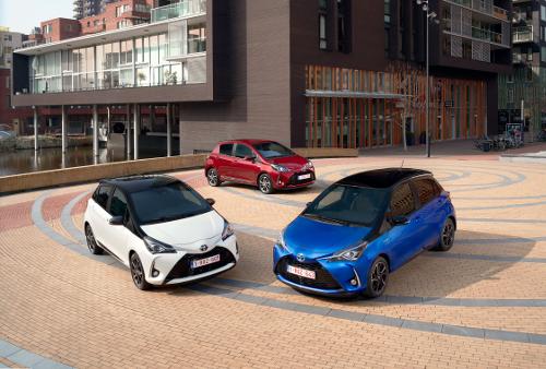 Toyota Yaris 2017 3 couleurs