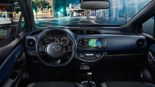 Toyota Yaris 2017 intérieur habitacle