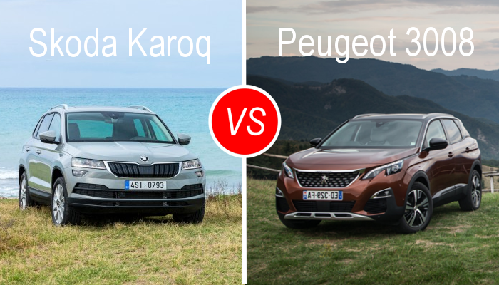 essai comparatif skoda karoq vs peugeot 3008. Black Bedroom Furniture Sets. Home Design Ideas