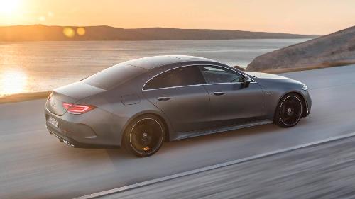 Mercedes-Benz CLS troisième génération : arrière