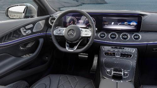 Mercedes-Benz CLS troisième génération : intérieur