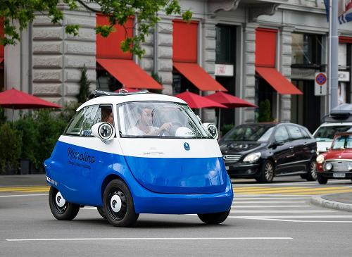 La Microlino de Micro Mobility Systems