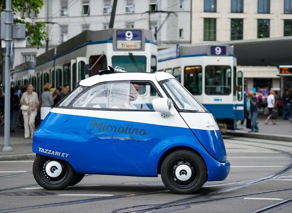 Un hommage à la mythique BMW Isetta : la Microlino