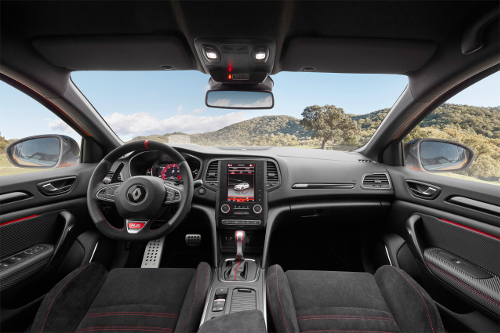 Renault Mégane RS essai intérieur