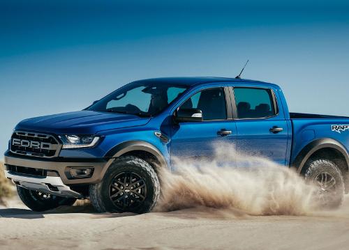 2018 : Ford Ranger Raptor off-road