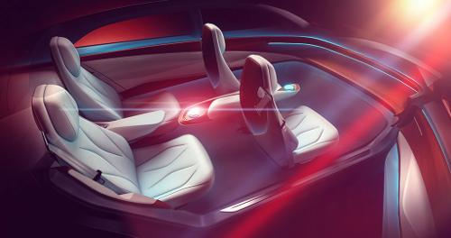 Le dernier concept car ID VIZZION : conduite 100% autonome