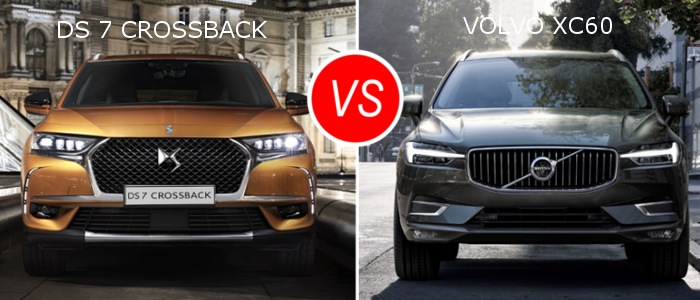 Essai comparatif : DS 7 Crossback VS Volvo XC60