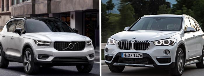 Essai comparatif Volvo XC40 VS BMW X1 : conduite