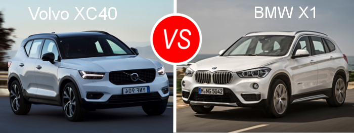 essai comparatif d couvrez le match volvo xc40 vs bmw x1. Black Bedroom Furniture Sets. Home Design Ideas