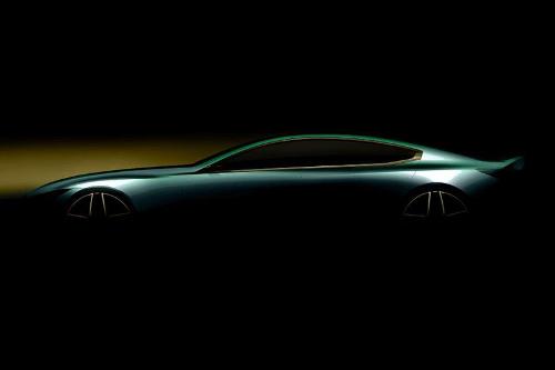 Teaser du concept BMW M8 Gran Coupé