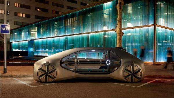 Renault EZ-GO : premier robot-véhicule autonome et à partager