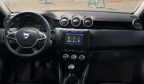Essai nouveau Dacia Duster : équipement
