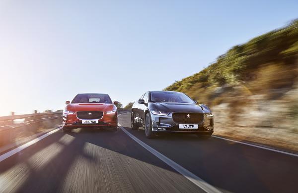 Jaguar I-Pace : le premier modèle 100% électrique s'expose à Genève