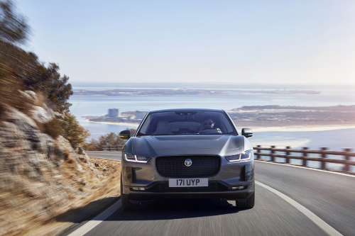 Jaguar I-Pace face avant design