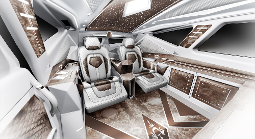 L'intérieur kitsch du SUV le plus cher au monde : Karlmann King