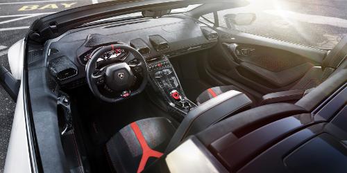Lamborghini Huracan Performante Spyder intérieur