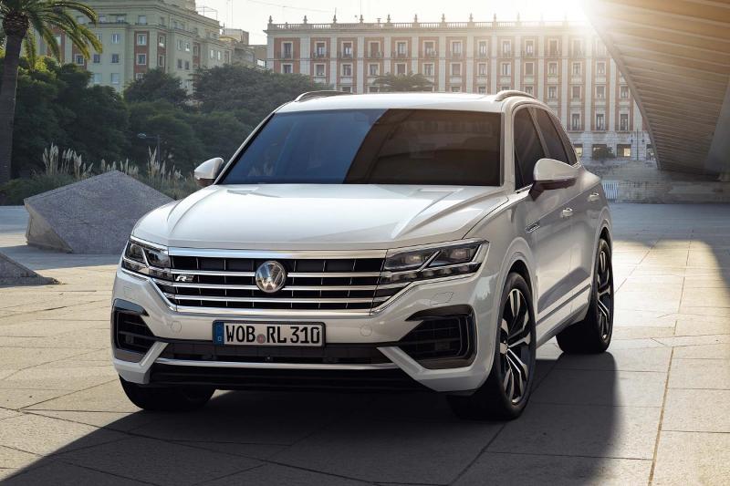 Volkswagen : le nouveau Touareg (2018) dévoilé