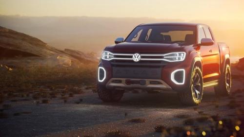 Pick Up Volkswagen Atlas Tanoak