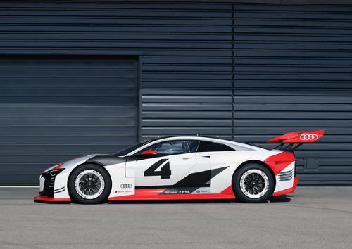 Audi e-tron Vision Grand Turismo : vue latérale