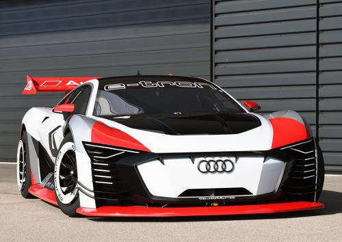 Audi e-tron Vision Grand Turismo : vue face