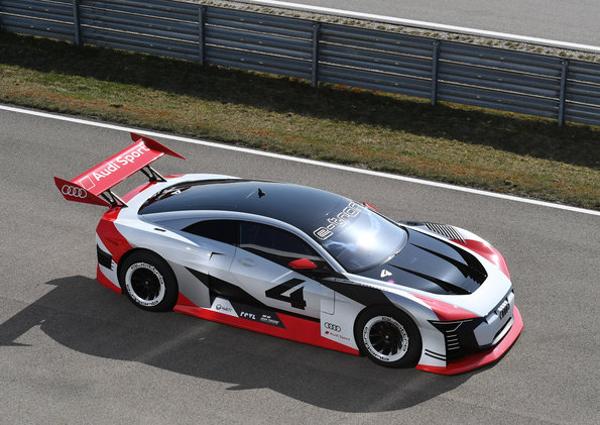 Audi présente son concept e-tron Vision Gran Turismo