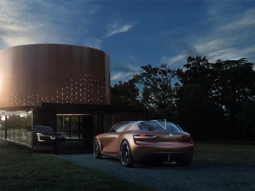 Concept Renault Symbioz : voiture autonome