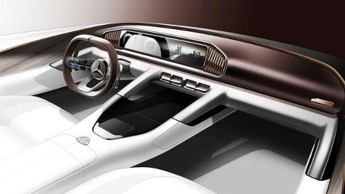 Teaser du prototype Mercedes-Maybach