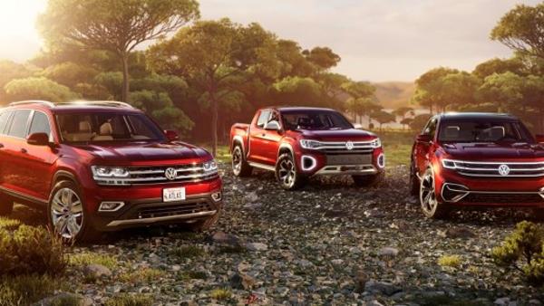 Concepts Volkswagen Atlas Cross Sport et Atlas Tanoak : direction l'Amérique !